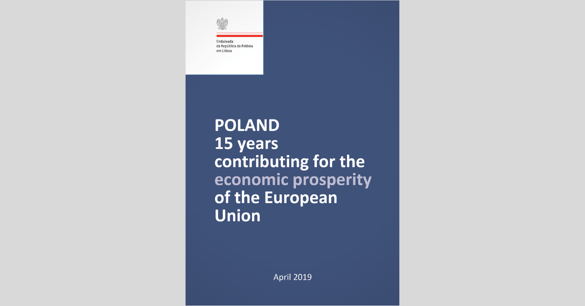 Booklet: Poland - 15 years contributing for the prosperity of the EU